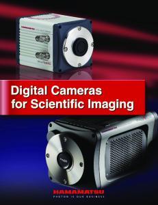 Digital Cameras for Scientific Imaging