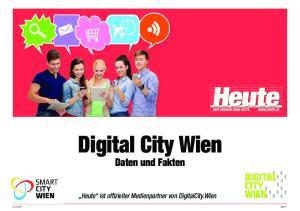 Digital City Wien Daten und Fakten