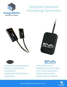 Digital Dental Imaging Systems