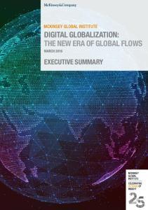 DIGITAL GLOBALIZATION: THE NEW ERA OF GLOBAL FLOWS