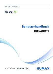 Digital HD-Receiver. Benutzerhandbuch