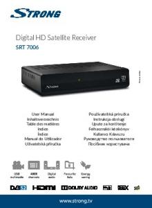 Digital HD Satellite Receiver