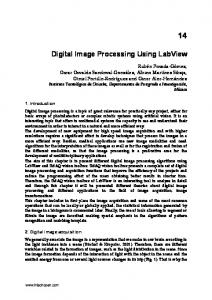 Digital Image Processing Using LabView