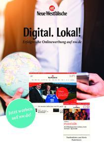 Digital. Lokal! Erfolgreiche Onlinewerbung auf nw.de