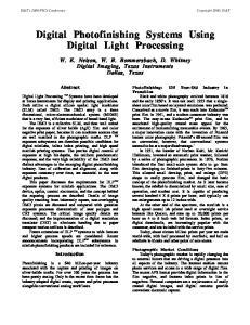 Digital Photofinishing Systems Using Digital Light Processing