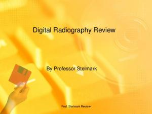 Digital Radiography Review