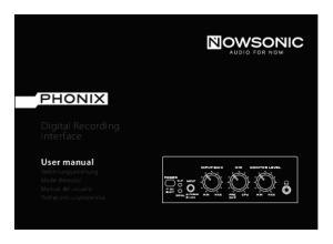 Digital Recording Interface