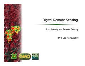 Digital Remote Sensing