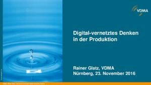 Digital-vernetztes Denken in der Produktion
