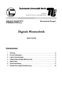 Digitale Messtechnik
