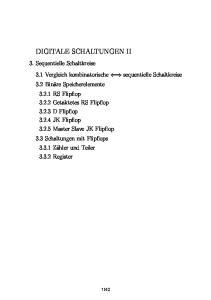 DIGITALE SCHALTUNGEN II