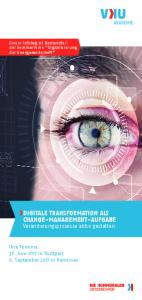 DIGITALE TRANSFORMATION ALS CHANGE-MANAGEMENT-AUFGABE