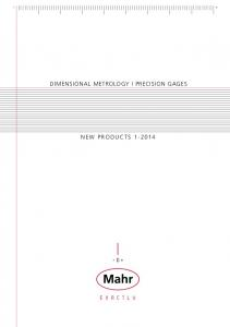 dimensional metrology I precision gages New products