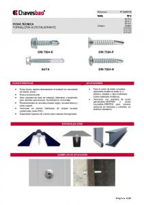DIN 7504-K DIN 7504-P AUTA DIN 7504-N