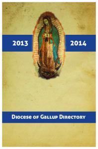 Diocese of Gallup Directory