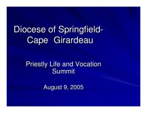 Diocese of Springfield- Cape Girardeau