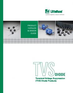 DIODE Transient Voltage Suppression (TVS) Diode Products