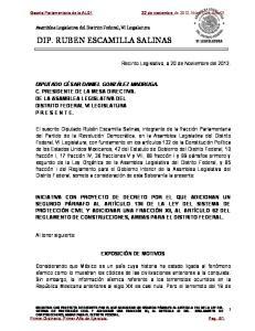 DIP. RUBEN ESCAMILLA SALINAS