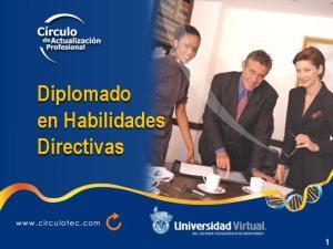 Diplomado en Habilidades Directivas