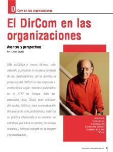 DirCom en las organizaciones