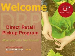 Direct Retail Pickup Program