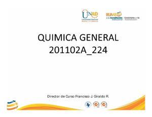 Director de Curso Francisco J. Giraldo R
