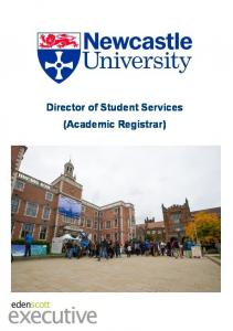 Director of Student Services (Academic Registrar)