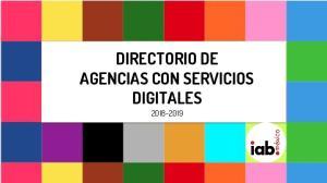 DIRECTORIO DE AGENCIAS CON SERVICIOS DIGITALES