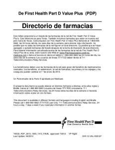 Directorio de farmacias
