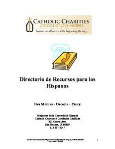 Directorio de Recursos para los Hispanos