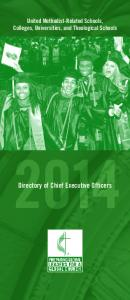 Directory of Chief Executive Officers