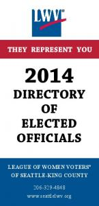 DIRECTORY OF ELECTED OFFICIALS