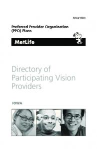 Directory of Participating Vision Providers