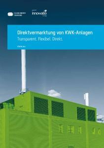 Direktvermarktung von KWK-Anlagen