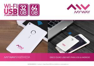 DISCO DURO USB WIFI PARA IOS & ANDROID
