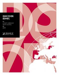 DISCOVER EDHEC. study abroad