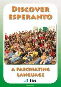 Discover esperanto. a fascinating language