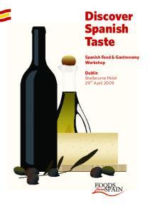 Discover Spanish Taste