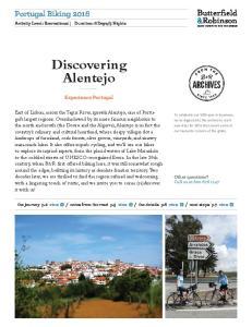 Discovering Alentejo. Portugal Biking Experience Portugal
