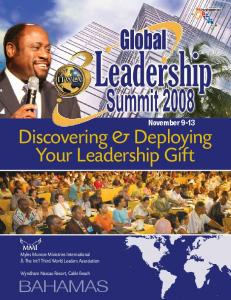 Discovering & Deploying Your Leadership Gift