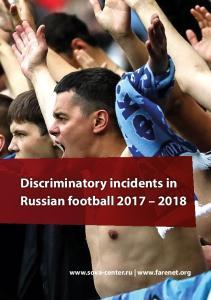 Discriminatory incidents in Russian football