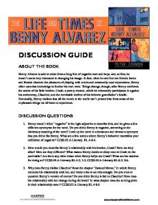 DISCUSSION GUIDE ABOUT THE BOOK DISCUSSION QUESTIONS