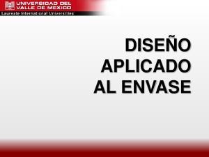 DISEÑO APLICADO AL ENVASE