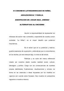 DISERTACION DR. CESAR RAUL JIMENEZ