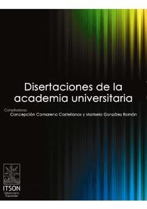 Disertaciones de la academia universitaria