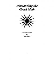 Dismantling the Greek Myth