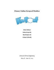 Disney Online Kerpoof Studios