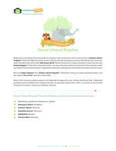 Disney s Animal Kingdom