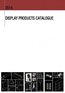 DISPLAY PRODUCTS CATALOGUE