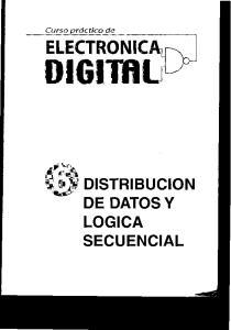 DISTRIBUCION DE DATOS Y LOGICA SECUENCIAL